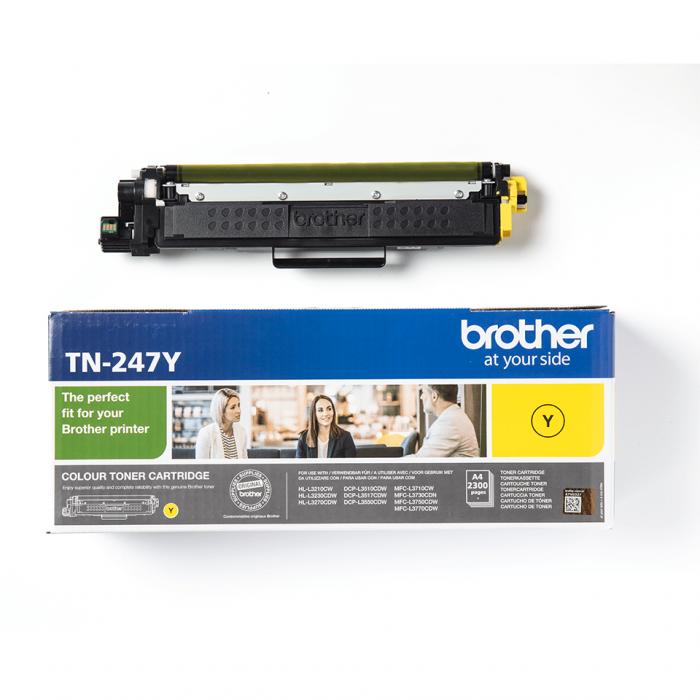 Brother TN-247Y, Cartuș Original Toner Yellow [1]
