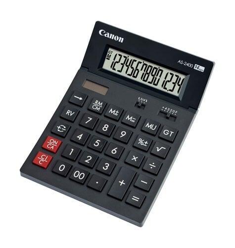 Calculator AS2400 Desk 14 Digits Canon [0]