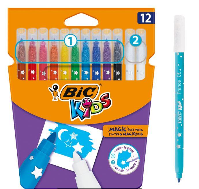 Carioci 12 Culori Bic Kids Magic [0]