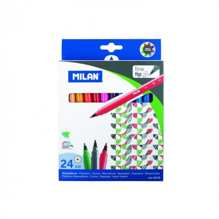 Carioci 24 Culori Milan [0]