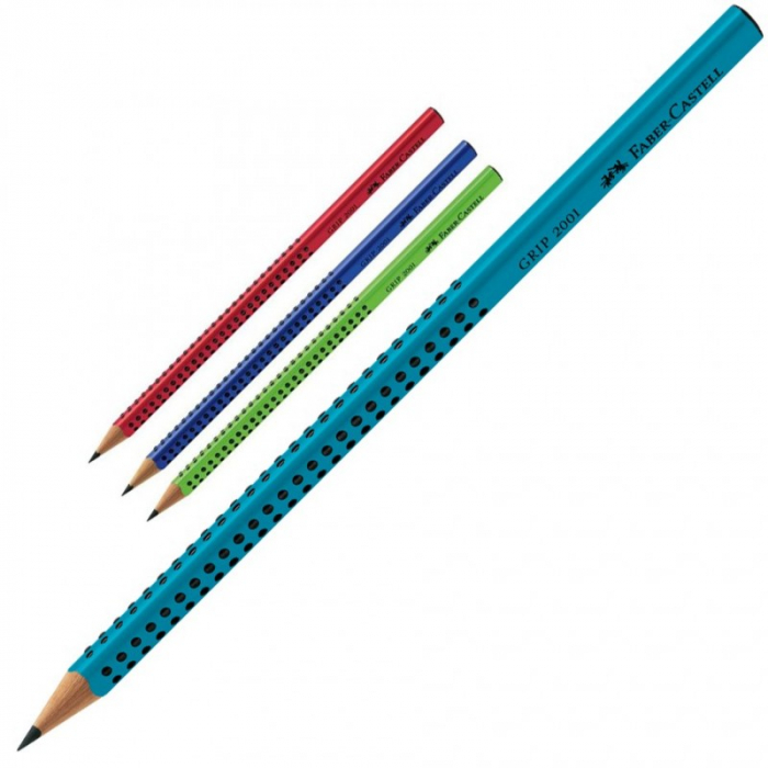 Creion Grafit Grip Faber Castell [0]