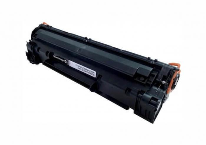 HP 36A CB436A, Cartuș Compatibil Toner Negru [0]
