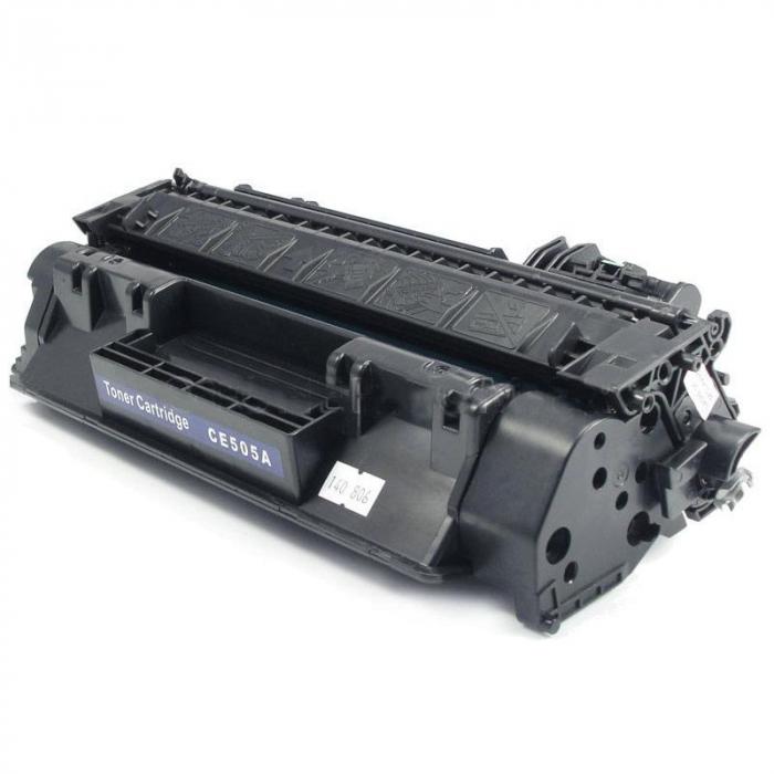 HP 505A, CE505A, Cartuș Compatibil Toner Negru [0]