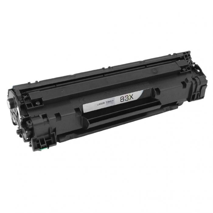HP 83X CF283X, Cartuș Compatibil Toner Negru [0]