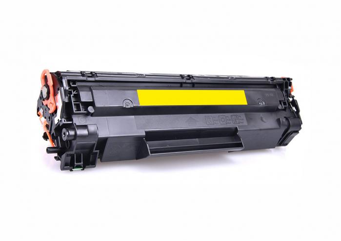 HP CB542A, Cartuș Compatibil Toner Yellow [0]