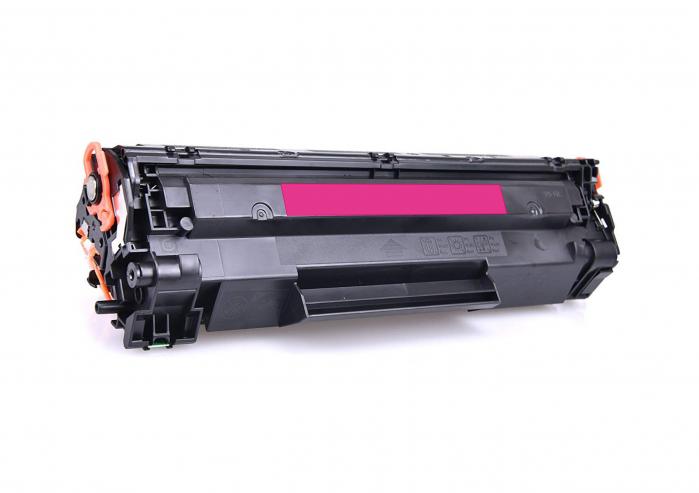 HP CB543A, Cartuș Compatibil Toner Magenta [0]