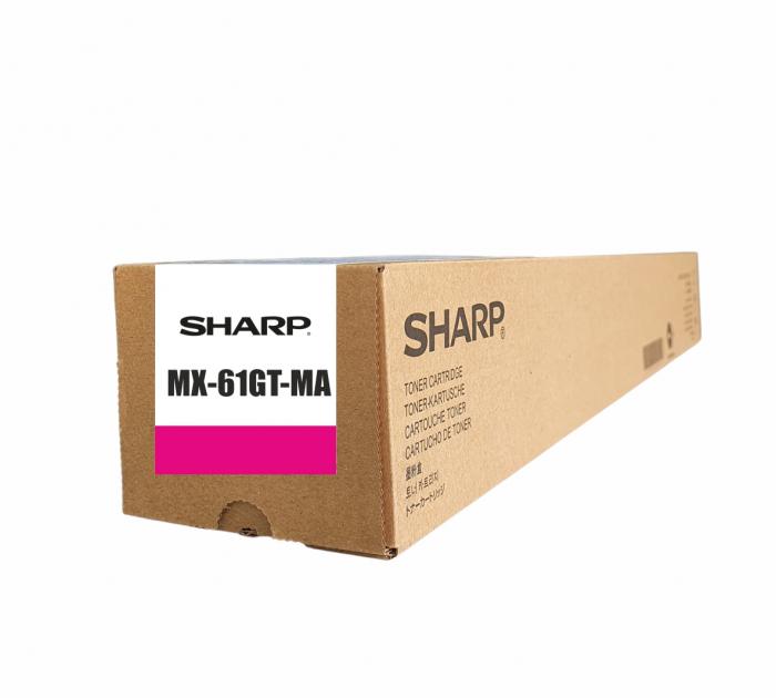 Sharp MX-61GT-MA,  Cartuș Original Toner Magenta [0]