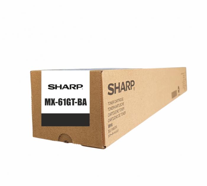 Sharp MX-61GT-BA, Cartuș Original Toner Negru [0]