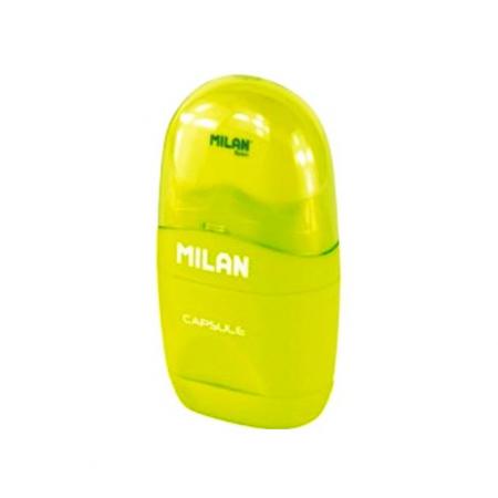 Ascuțitoare cu Radieră Ovală Milan [0]