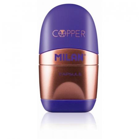 Ascuțitoare cu Radieră Copper Milan [0]