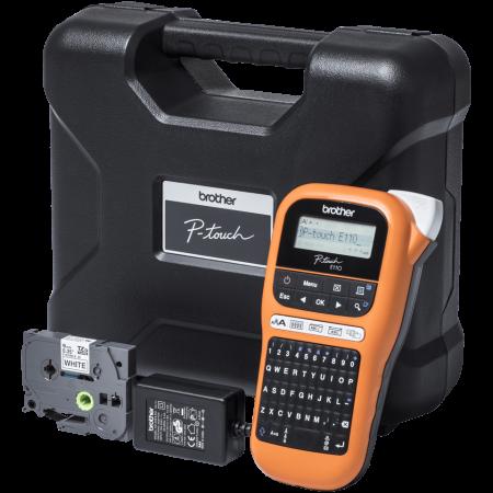 Brother PT-E110VP, Imprimantă de Etichete pentru Electricieni  P-touch [0]