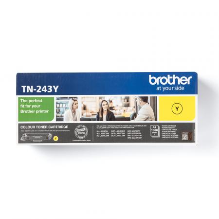 Brother TN-243Y, Cartuș Original Toner Yellow [1]