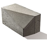Bordura racord,  50 x 20 cm, 25 cm grosime 0
