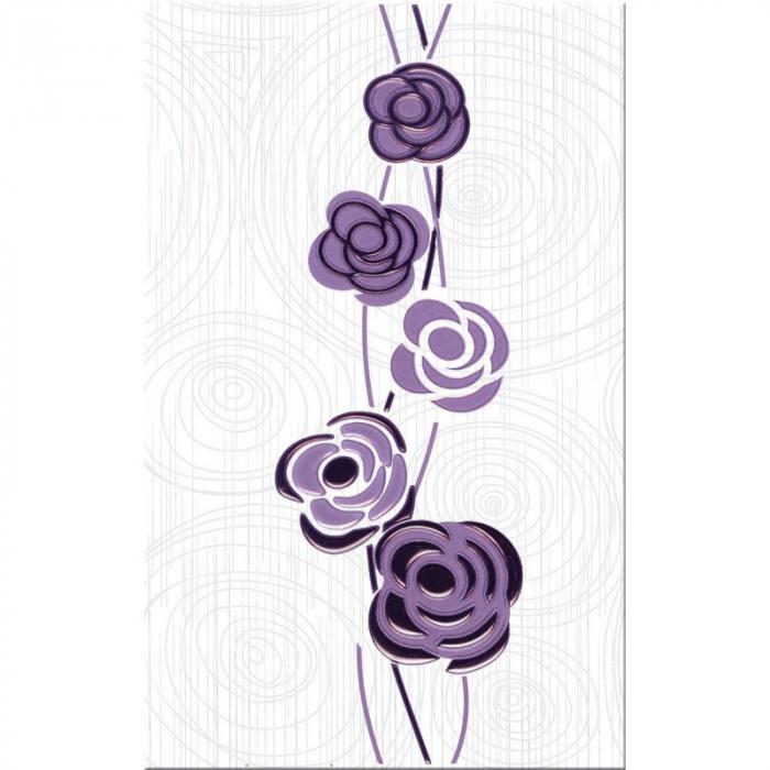 Faianta decor Dovima, violet ,40.2 x 25.2 cm [0]