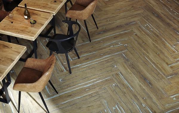 Gresie Rockwood, maro, rectificata,  19.8 x 119.8 cm 1