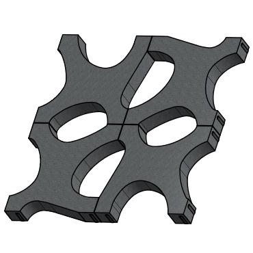 Pavaj Aqua Stone 58 x 58 cm, grosime 10 cm [2]