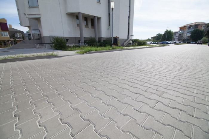 Pavaj Dublu T T1, ciment, 16.5 x 20 cm, grosime 6 cm 1