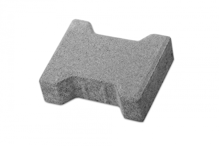 Pavaj Dublu T T1, ciment, 16.5 x 20 cm, grosime 6 cm 0