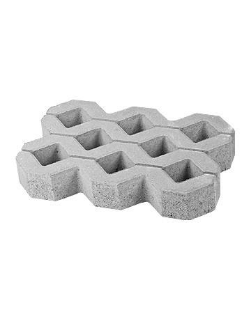 Pavaj Grila 2, gri-ciment, 40 x 60 cm, grosime 8 cm [0]