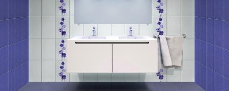 Gresie Colorline, violet, 33 x 33 cm1