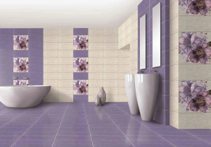 Gresie Motive Tex, violet, 33 x 33 cm [1]
