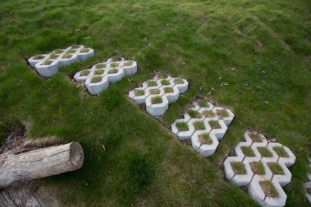 Pavaj Grila 2, gri-ciment, 40 x 60 cm, grosime 8 cm [2]