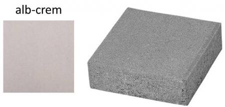 Pavaj Pavaj Patrat P4, alb-crem, 40 x 40 cm, grosime 6 cm, alb-crem, 40 x 40 cm, grosime 6 cm [0]