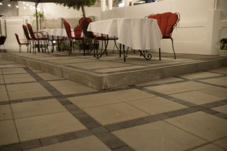 Pavaj Pavaj Patrat P4, gri-ciment, 40 x 40 cm, grosime 6 cm, gri-ciment, 40 x 40 cm, grosime 6 cm [1]