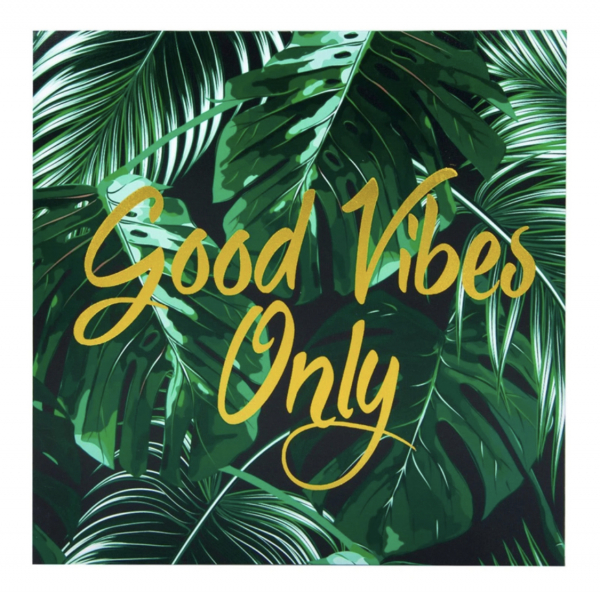 Tablou canvas Good Vibes Only [0]