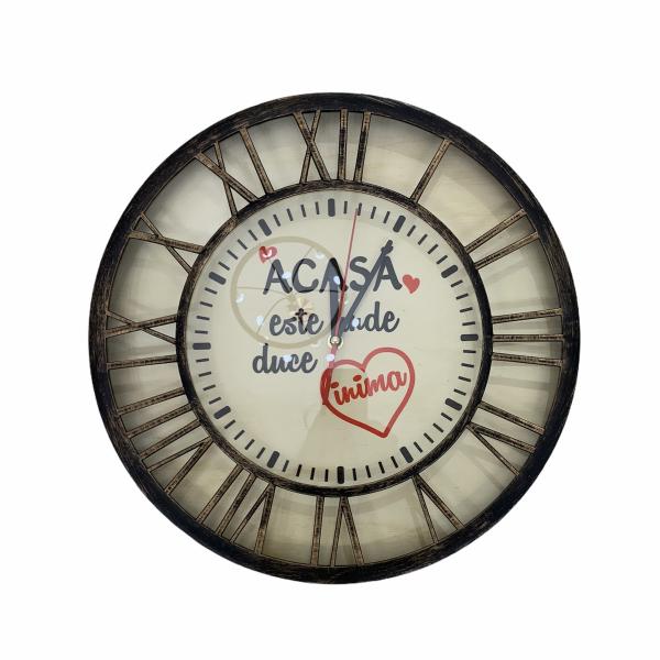 Ceas din lemn Acasa [0]
