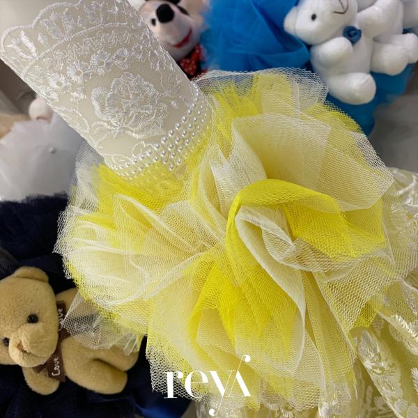 Lumanare Yellow Lace [1]