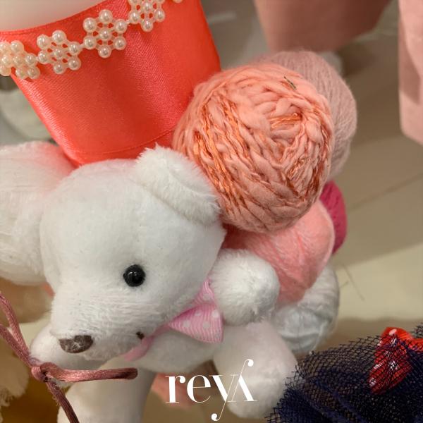 Lumanare botez Wool Bear [1]