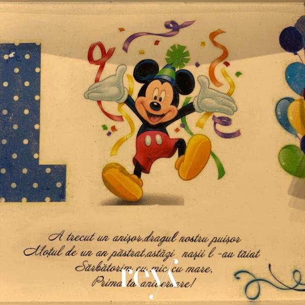 Set tava mot baieti Mickey Mouse [1]