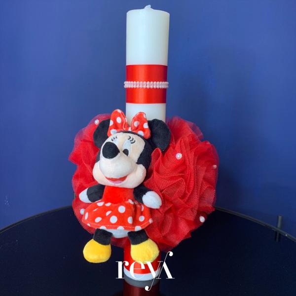 Lumanare botez Minnie Mouse [0]