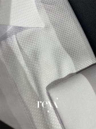 Camasa alba pepit slim [1]