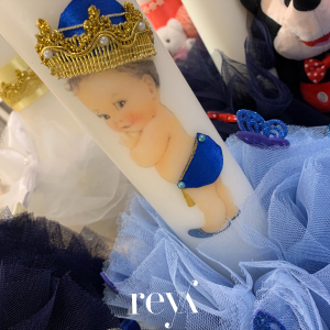 Lumanare botez Blue Prince [1]