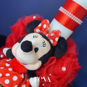 Lumanare botez Minnie Mouse [1]