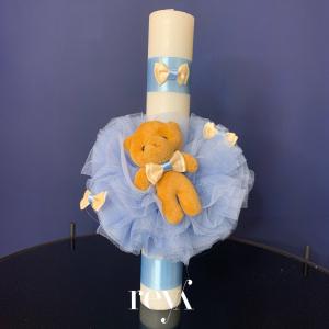 Lumanare botez Blue Bear [0]