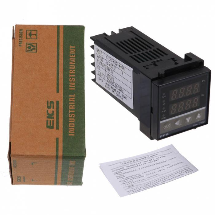 Controler temperatura REX-C100FK02-V*AN termostat 0