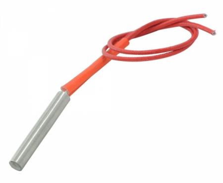 Rezistenta electrica de incalzire cartus 6mmx50mm 220V 80W 0