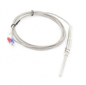 Termocupla K tip sonda 5mmx50mm prindere M13 cablu 300cm [0]