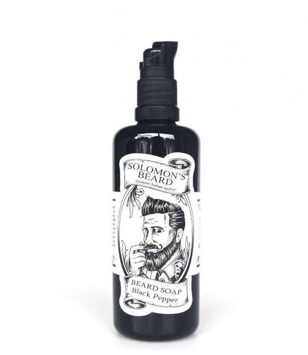 Sampon pentru barba si mustata, 100 ml. 0