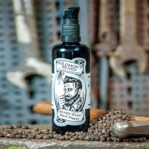 Sampon pentru barba si mustata, 100 ml. 1