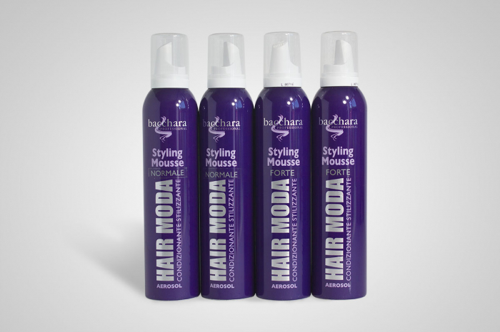Styling Mousse fixativ cu spuma, 250ml, by Bacchara 0