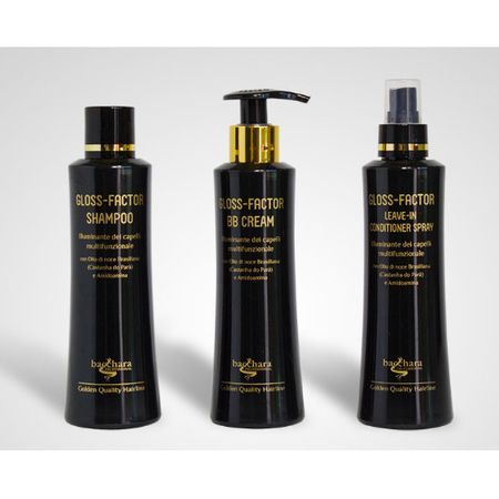 Tratament profesional GLOSS-FACTOR Sampon, crema și spray cu balsam, 250 ml 1