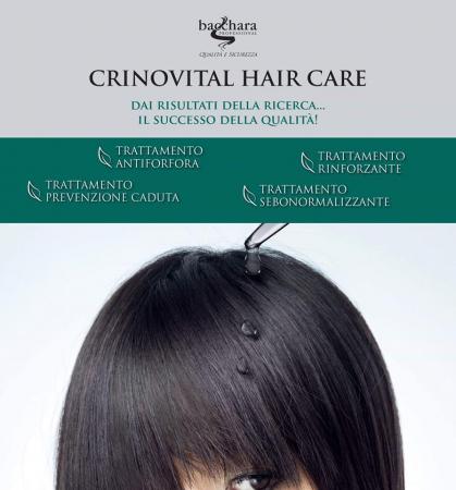 Tratament Crinovital Anti Cadere, Sampon 1000 ml. + Ser 12 fiole de 8 ml.2