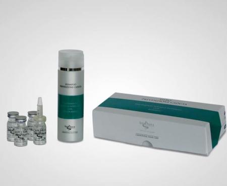 Tratament Crinovital Anti Cadere, Sampon 1000 ml. + Ser 12 fiole de 8 ml.1