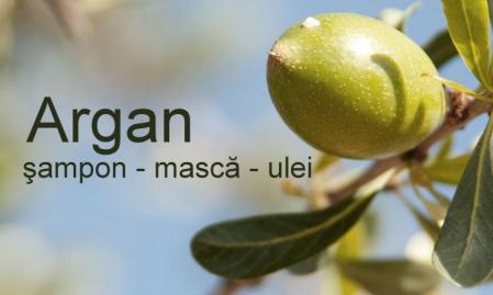 Tratament cu ulei de Argan, Sampon, Masca si Ulei satinat - Tratamentul părului deteriorat1