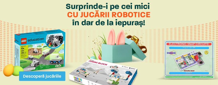 Jucarii Robotice In Dar De La Iepurasul de Paste