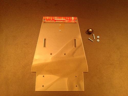 Platforma Robot LineFollower nivel competitie 9